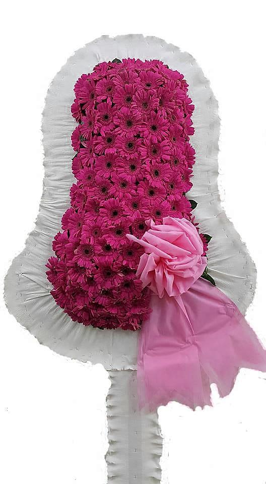 Pembe Çiçeklerden Oluşan Açılış çiçeği