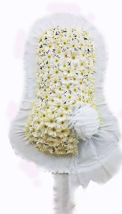 Beyaz Çiçeklerden Oluşan Açılış Çiçeği