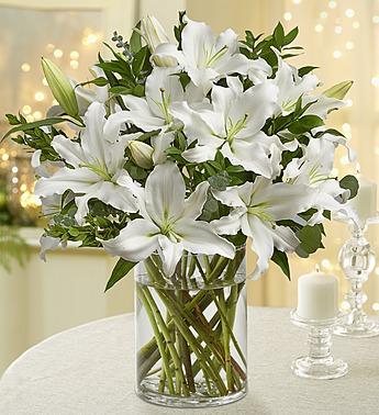 Beyaz Kokulu Lilyumlar