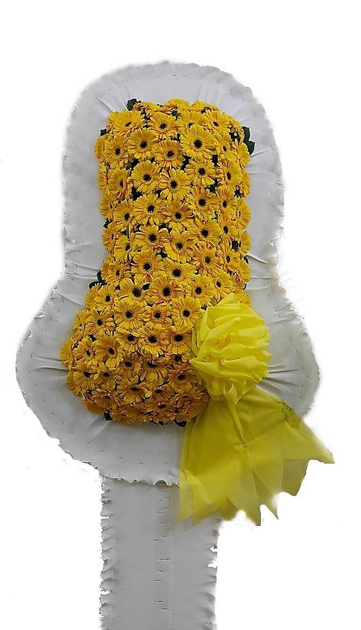 Sarı çiçeklerden oluşan Düğün Çiçeği