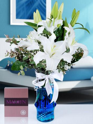 Kokulu Lilyum Çiçek Aranjmanı